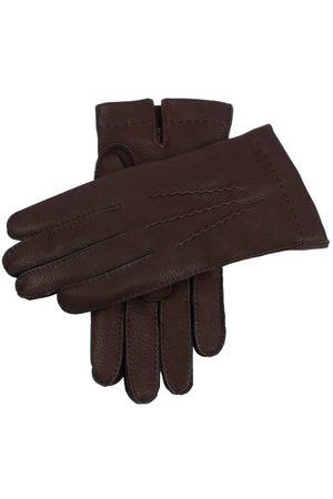 Dents Men Gloves - Men's Cashmere Lined Deerskin Leather Gloves, / 11