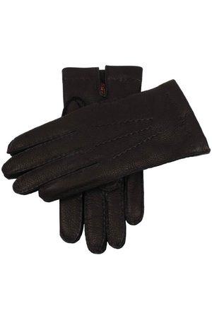 Dents Men's Cashmere Lined Deerskin Leather Gloves, / 10