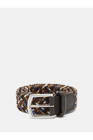 Anderson's Woven Elasticated Belt - Mens - Multi