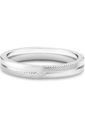De Beers Women Rings - 18kt white gold The Promise band ring