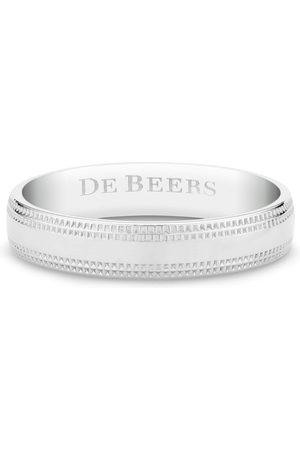 De Beers Jewellers Engraved-logo ring