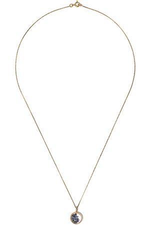 Aurélie Bidermann Women Necklaces - 18kt yellow sapphire Chivor mini medallion necklace