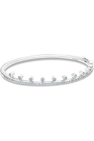 De Beers Women Bracelets - 18kt white gold diamond Dewdrop bracelet