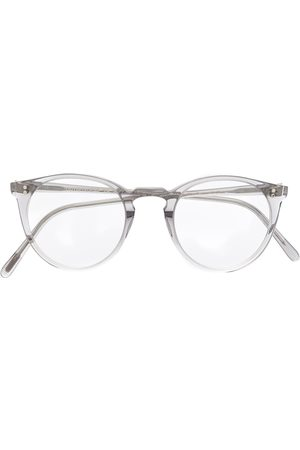Oliver Peoples O' Malley round frame glasses - Neutrals