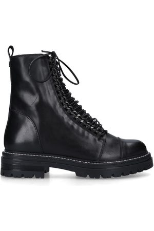 Carvela Sultry chain - leather biker boots