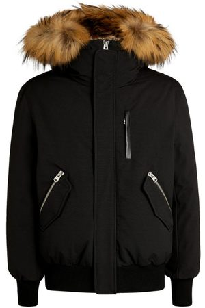 Mackage Fur-Trim Dixon Bomber Jacket