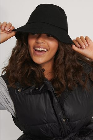 NA-KD Felted Bucket Hat - Black