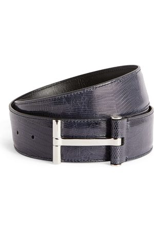 Tom Ford Leather T Clasp Belt