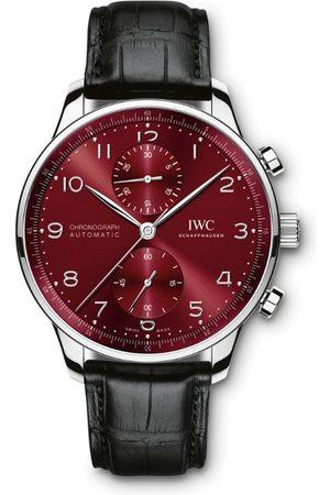 IWC SCHAFFHAUSEN Stainless Steel Portugieser Chronograph Watch 41mm