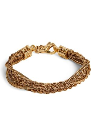 EMANUELE BICOCCHI Plated Braided Chain Bracelet