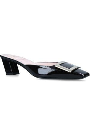Roger Vivier Women Sandals - Patent Leather Belle Vivier Mules 45