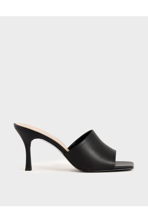 CHARLES & KEITH Square Toe Mules