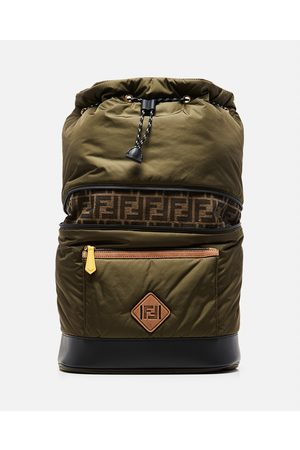 Fendi Backpack with FF monogram size One Size