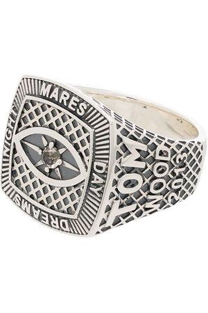 TOM WOOD Men Rings - Logo-engraved sterling ring