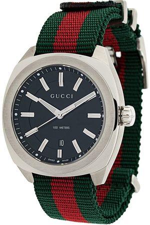 Gucci Logo striped watch