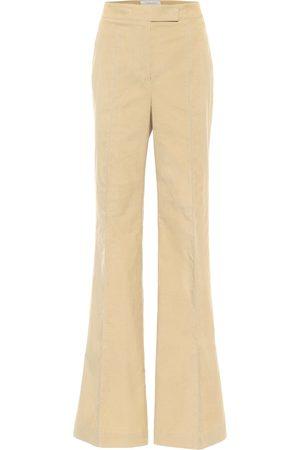 GABRIELA HEARST Leda flared cotton pants