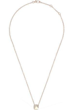 POMELLATO Women Necklaces - Nudo 18kt Necklace W/ White Topaz