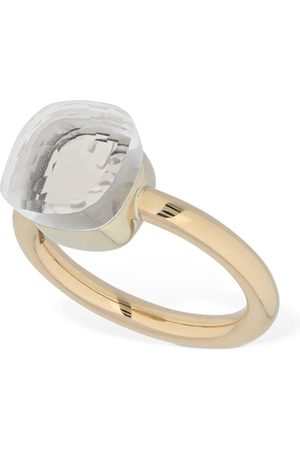 Pomellato Nudo 18kt Ring W/ White Topaz