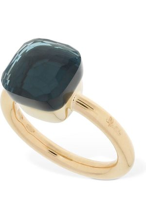 Pomellato Nudo 18kt Ring W/ Blue London Topaz