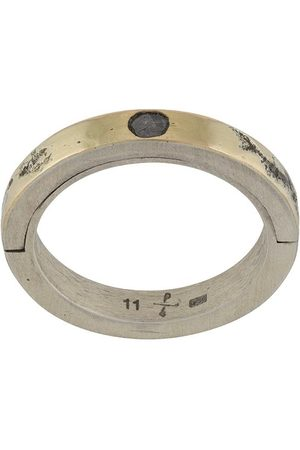 Parts of Four Diamond detail band ring