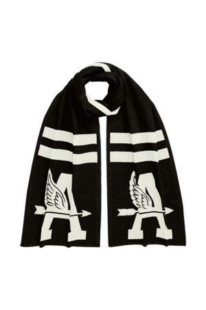 Ralph Lauren Custom Wool Knit Scarf
