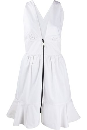 LOUIS VUITTON Pre-owned zipped gathered dress