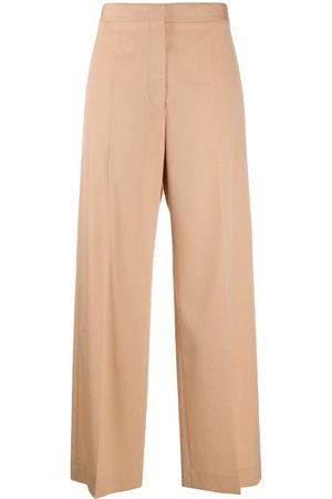 Jil Sander Women Trousers - High waist tailored trousers - Neutrals