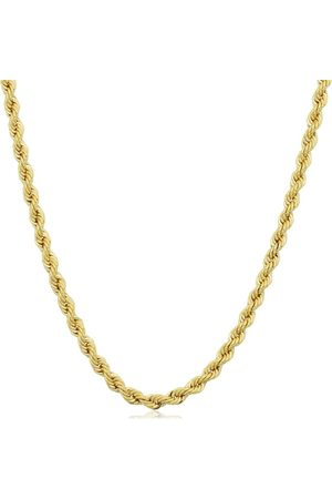 SuperJeweler 14K (6.15 g) 2.1mm Rope Chain Necklace, 18 Inches