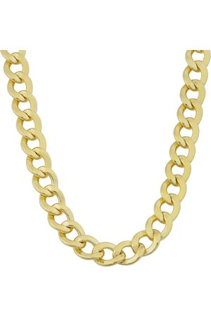 SuperJeweler 14K (24.60 g) 5.8mm Curb Link Chain Necklace, 20 Inches