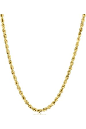 SuperJeweler 14K (9.60 g) 2.1mm Rope Chain Necklace, 30 Inches