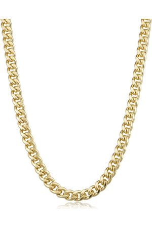SuperJeweler 14K (54.60 g) 6.5mm Miami Cuban Chain Necklace, 24 Inches