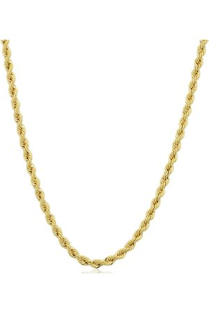 SuperJeweler 14K (7.90 g) 2.1mm Rope Chain Necklace, 24 Inches