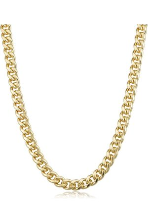 SuperJeweler 14K (45.60 g) 6.5mm Miami Cuban Chain Necklace, 20 Inches