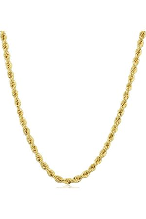 SuperJeweler 14K (6.70 g) 2.1mm Rope Chain Necklace, 20 Inches