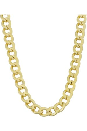 SuperJeweler 14K (37.10 g) 5.8mm Curb Link Chain Necklace, 30 Inches