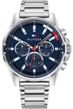 Tommy Hilfiger Blue Chronograph Dial Stainless Steel Bracelet Watch