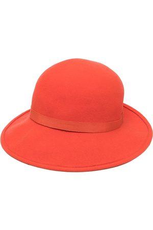 Céline Pre-owned plaque detail boater hat