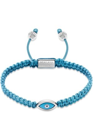 Nialaya Women Bracelets - Evil eye braided bracelet