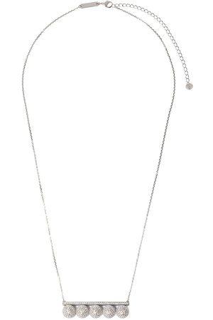 Tasaki 18kt white gold diamond Balance Decade pendant necklace