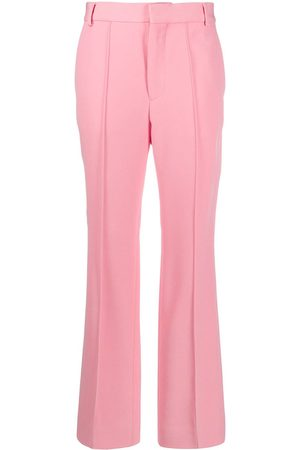 Plan C High-rise tailored trousers