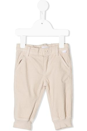Il gufo Corduroy slim-fit chinos - Neutrals