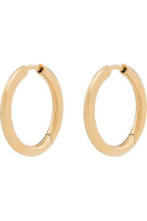 Tom Wood Men Earrings - 9K yellow Classic hoop earrings