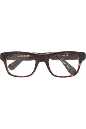 Oliver Peoples Sunglasses - Brisdon rectangular-frame glasses