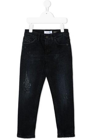 DONDUP KIDS Boys Slim - Distressed slim-fit jeans