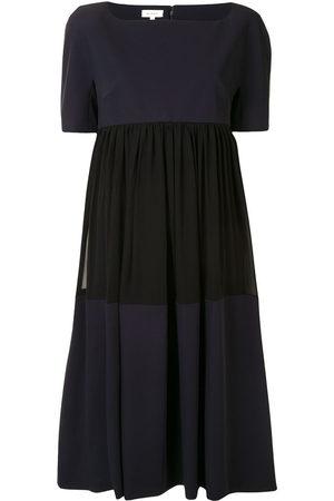 DELPOZO Colour-block midi dress