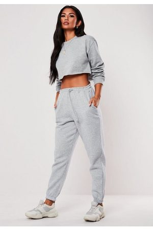 Missguided Petite Marl Oversized 90S Joggers