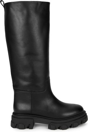 GIA COUTURE Women High Leg Boots - X Pernille Teisbaek Leather Knee-high Boots