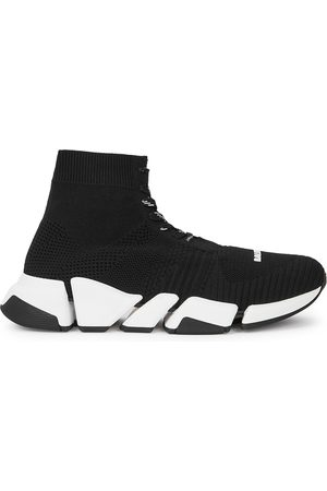 Balenciaga Women Trainers - Speed 2.0 Stretch-knit Sneakers