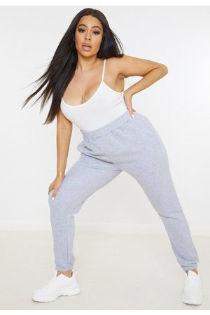 Missguided Plus Size Marl Basic Joggers