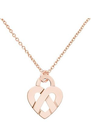 POIRAY Women Necklaces - Caur Entrelacé Pendant